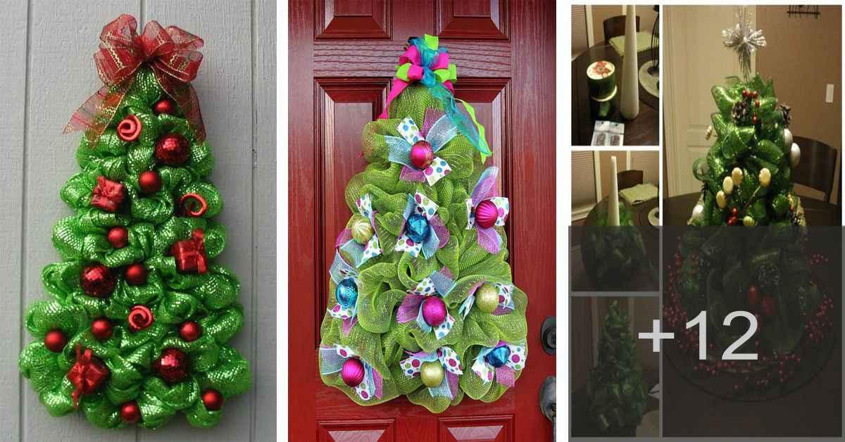 Aprende cómo hacer arbolitos de navidad con tela