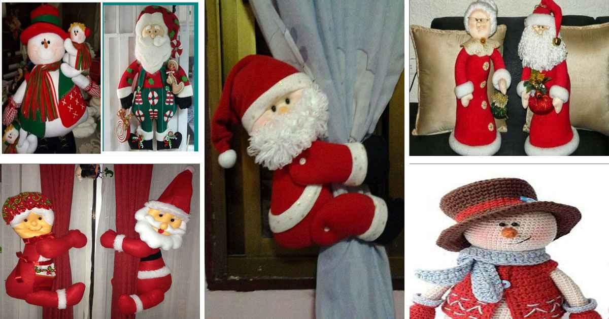 Aprende como crear hermosos muñecos navideños paso a paso