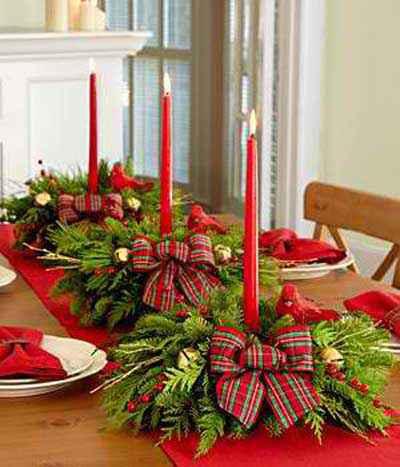 Aprende como hacer centro de mesa navideño