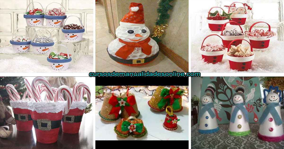 Cómo hacer manualidades navideñas con vasos