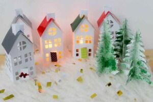 Aprende 8 maneras de crear una casita navideña