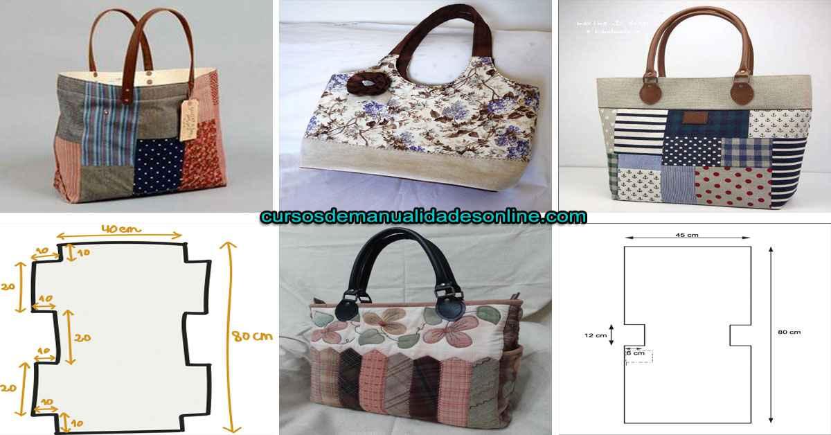 Aprende como hacer hermoso bolso de tela