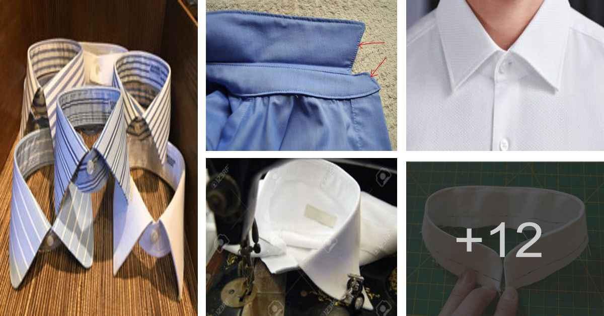 Aprende como confeccionar el cuello para camisas