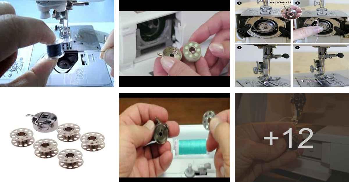 Aprende como devanar la bobina de tu máquina de coser