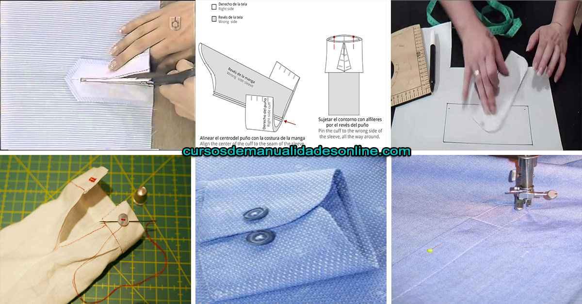 Aprende a como confeccionar un puño de una camisa