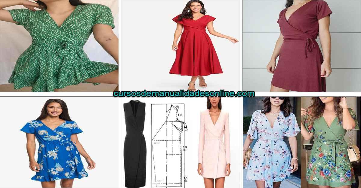 Aprende como confeccionar un vestido cruzado paso a paso