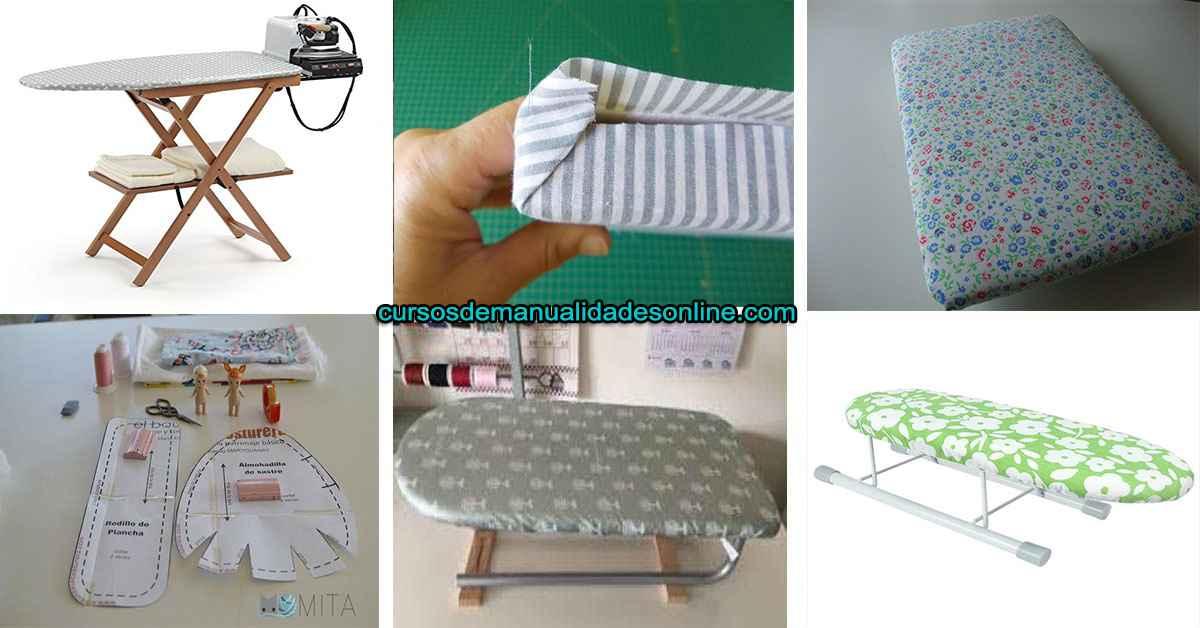 Aprende como confeccionar una mini tabla para planchar