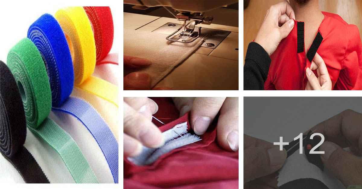 Aprende cómo confeccionar velcros de la manera mas fácil