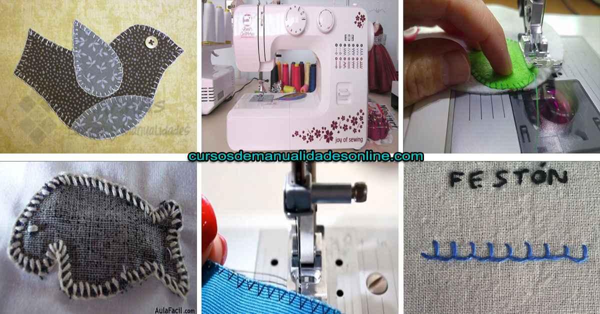 Aprende como utilizar las puntadas festón en tu máquina de coser