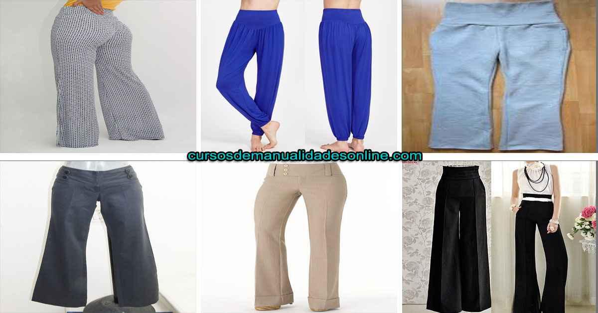 Aprende cómo hacer un pantalón con pretina ancha