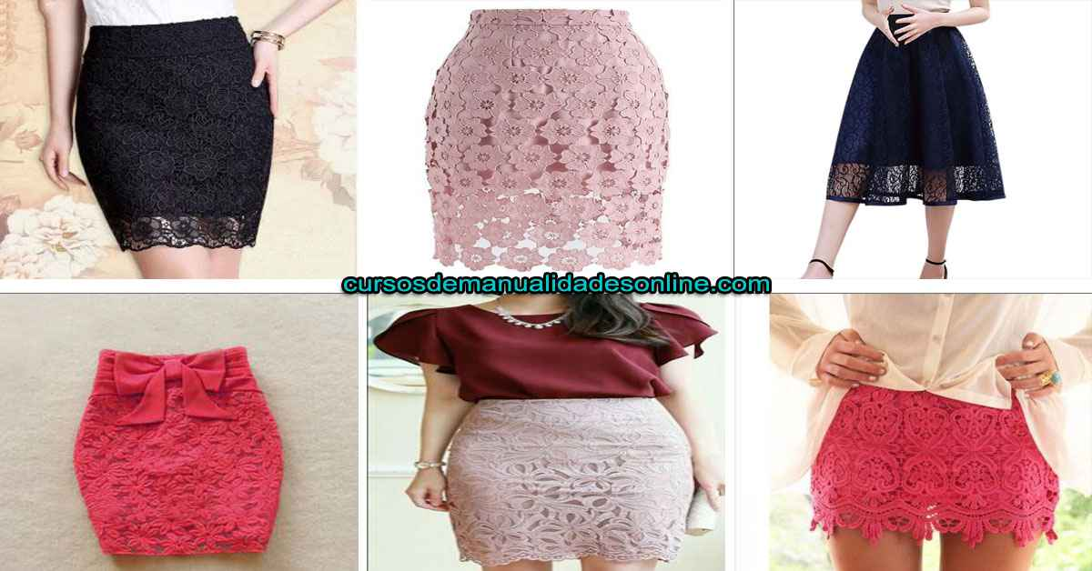 Aprende cómo hacer una falda de encaje paso a paso