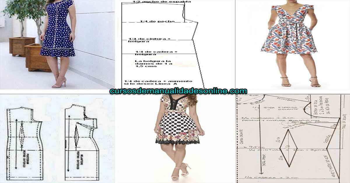 Aprende como hacer un vestido básico paso a paso