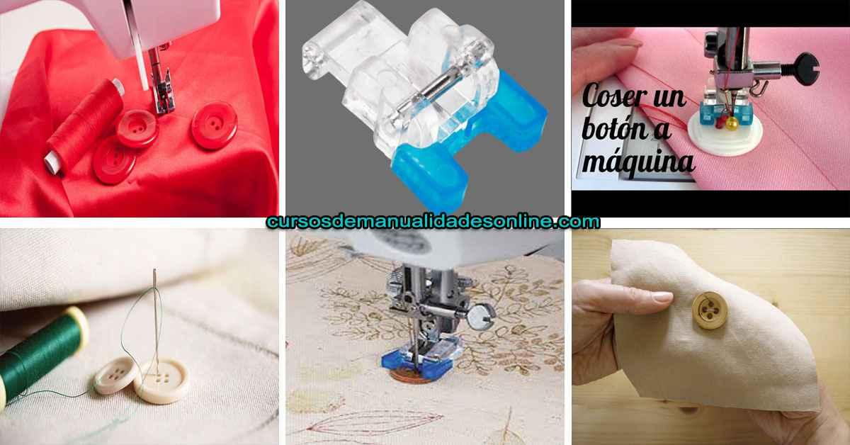 Aprende como coser un botón con diferentes métodos