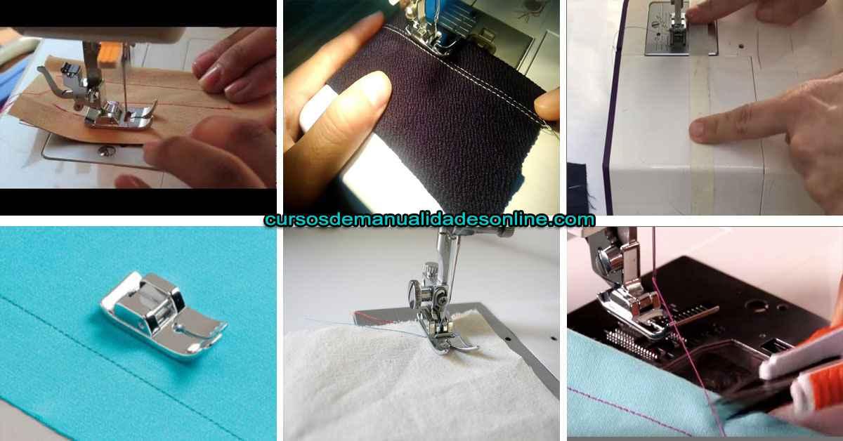 Aprende como coser recto y no torcerte paso a paso