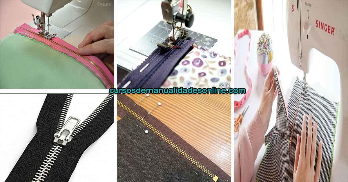 Aprende como coser un zíper paso a paso en tu maquina de coser