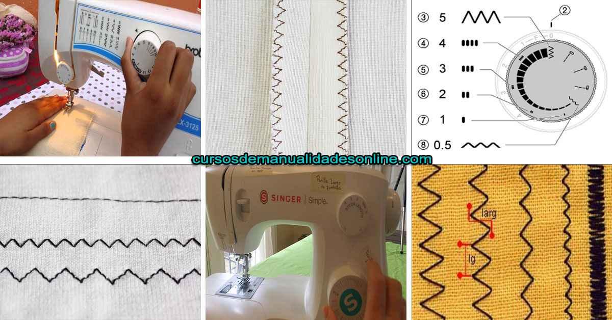 Aprende como hacer una costura en zigzag de una manera rápida y fácil