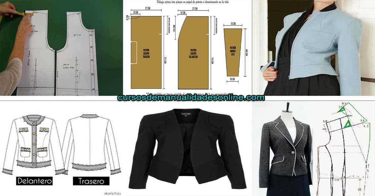 Aprende como trazar una chaqueta de manera fácil y sencilla