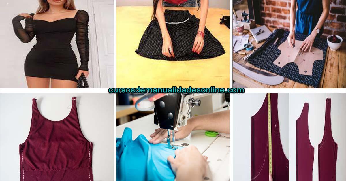 Aprende como lograr hacer un vestido ajustado paso a paso