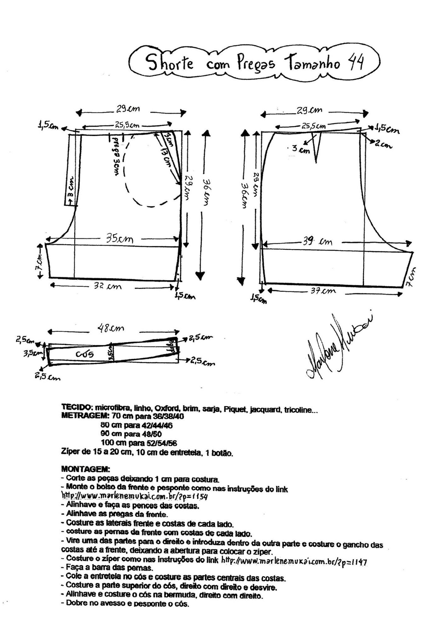 Aprende como confeccionar un short jeans con bolsillos laterales