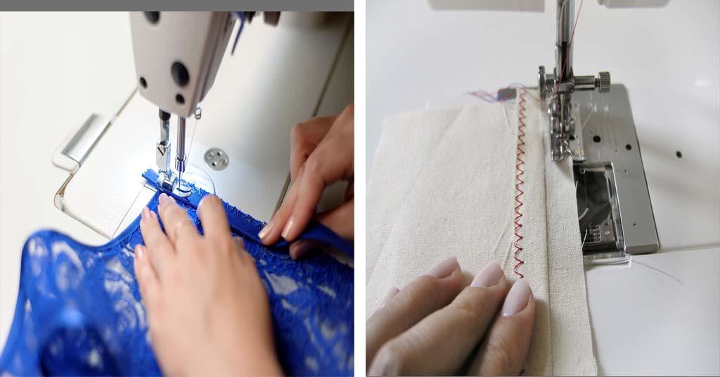 Aprende como cerrar las puntadas de una máquina de coser
