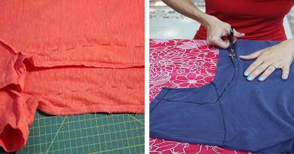 Aprende como ajustar el ancho de una manga con costura