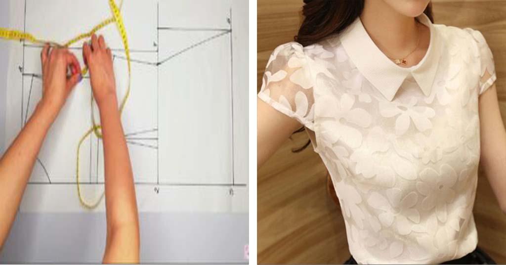 Aprende como coser una blusa básica con forro super fácil