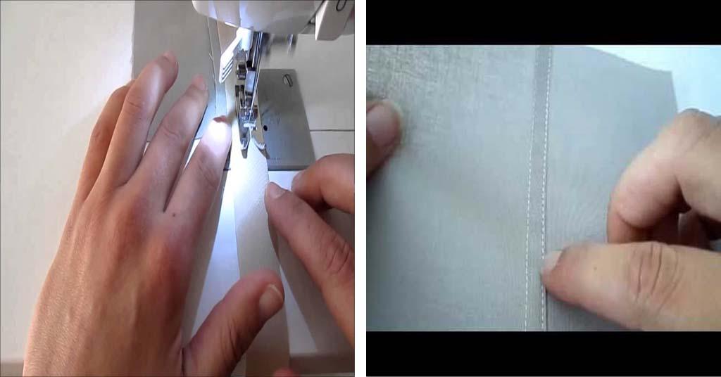 Aprende como hacer acabados de costuras internas
