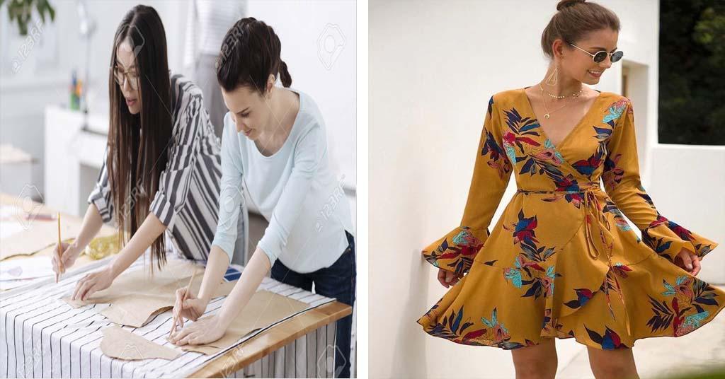 Aprende como hacer patrón de vestido con espalda cruzada