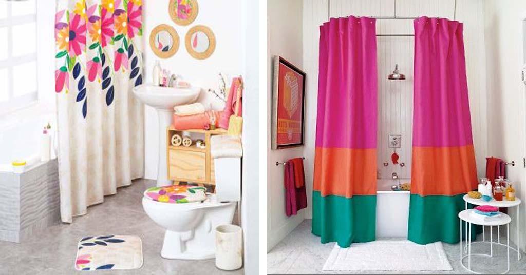 Aprende como confeccionar una cortina de baño básica paso a paso