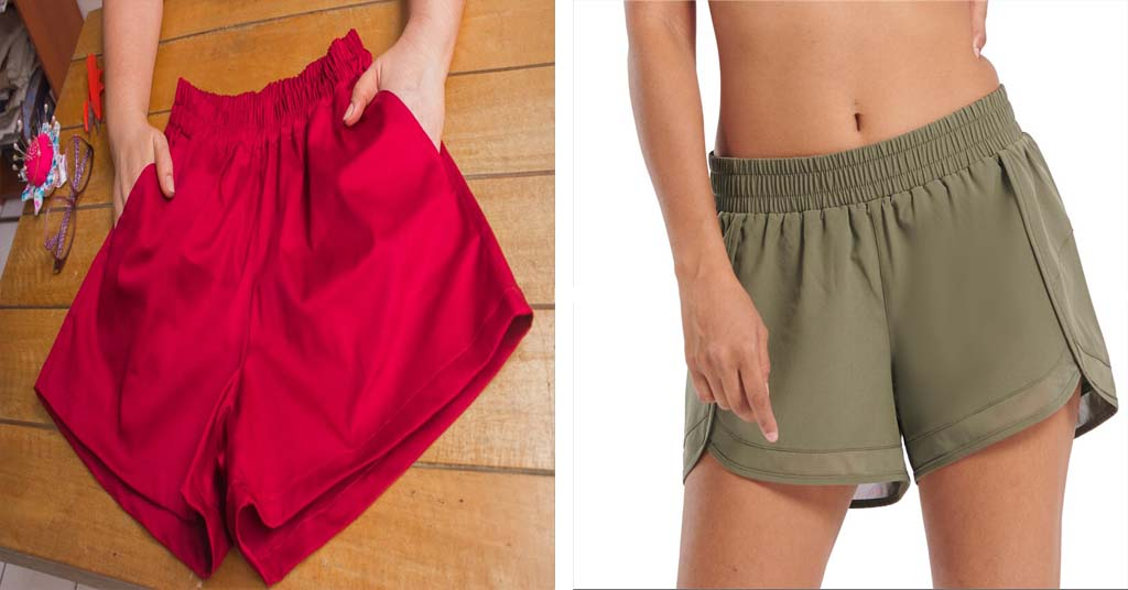 Aprende como hacer pantalón corto con cintura elástica