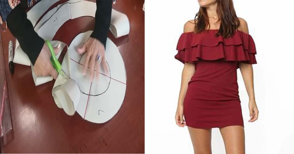 Cómo hacer un vestido sin hombros